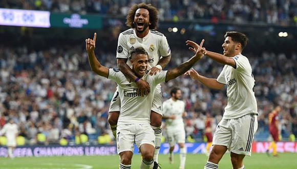 Real Madrid goleó 3-0 a Roma por la Champions League 2018. (Getty Images)