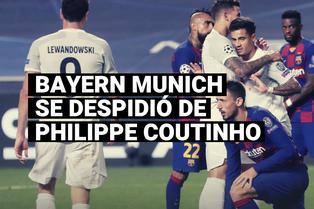 Bayern Munich se despidió de Philippe Coutinho, que volverá a un Barcelona en reconstrucción