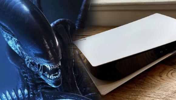 ¡PS5 al estilo Alien! Crean un diseño inspirado en el Xenomorfo
