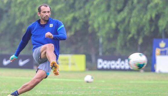 Hernán Barcos y el mensaje a los hinchas de Alianza Lima, tras el empate con Sport Huancayo. (Foto: Alianza Lima)