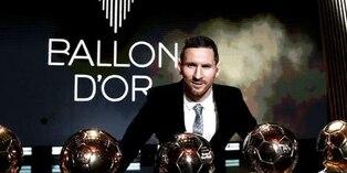 Messi y Rapinoe consiguen el Balón de Oro 2019