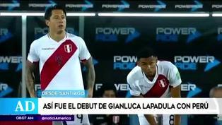 Así fue el debut de Gianluca Lapadula en las Eliminatorias a Qatar 2022