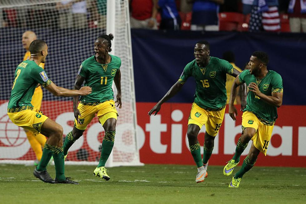 Jamaica convenció a ocho jugadores de ligas de Europa de jugar por la selección. (Getty)
