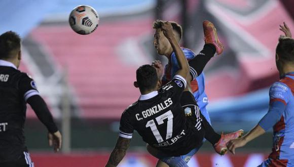 Con el golazo de Christofer Gonzales, Sporting Cristal empató con Arsenal y avanzó a cuartos de final de la Copa Sudamericana. (Foto: AFP)