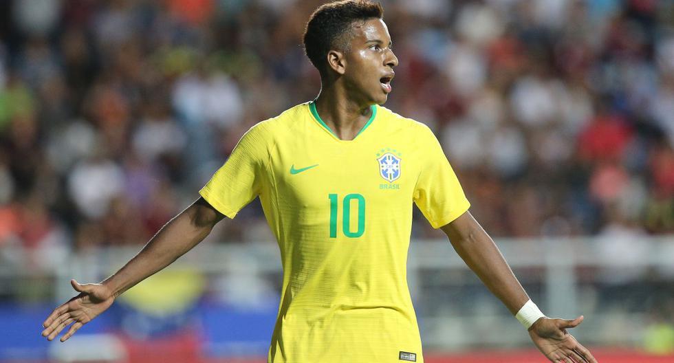 Argentina vs. Brasil: la probable alineación de la 'Canarinha' sin Neymar, pero con Rodrygo Goes. (Foto: AFP)