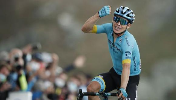 Colombiano Miguel Ángel López ganó la Etapa 17 del Tour de Francia 2020. (Tour de Francia)