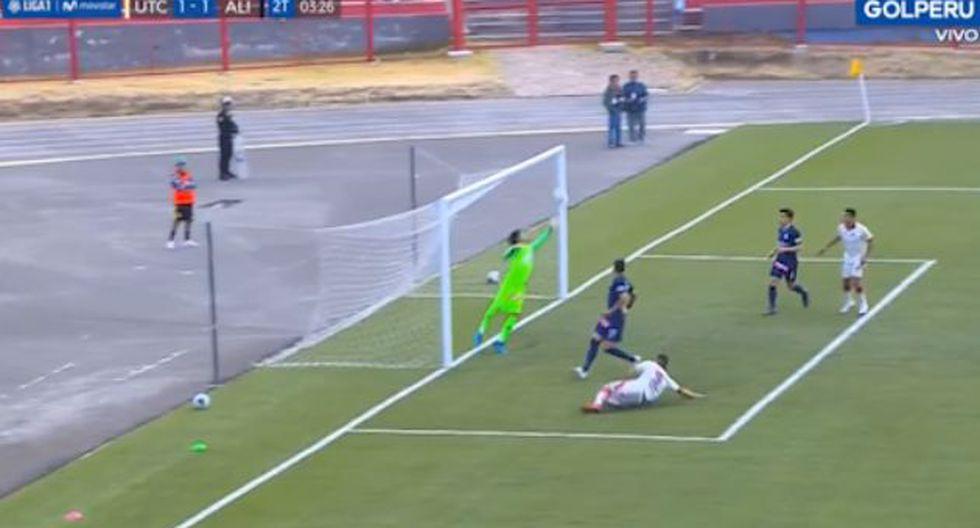 Jean Deza dejó en el piso a Felipe Rodríguez y su genialidad casi acaba en gol. (Video: GOLPERU)