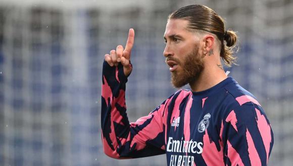Sergio Ramos acaba contrato con el Real Madrid al final de temporada. (Foto: Reuters)