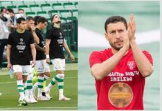 Repudio total a la Superliga: Betis y Athletic sorprenden con sus camisetas en el Benito Villamarín