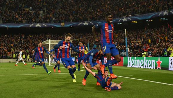 Champions League (2017) El Barcelona perdió ante PSG por 4-0 en la ida y en la vuelta, en Camp Nou, ganó por 6-1. (Foto: Getty)