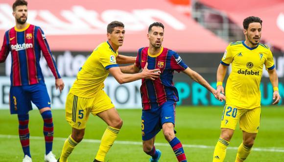 Barcelona vs. Cádiz igualaron 1 a 1 en el Camp Nou por LaLiga (Foto: FC Barcelona)