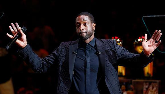 Dwyane Wade es un exjugador estadounidense de baloncesto que jugó para los Miami Heat de la NBA. (Foto: Getty Images)