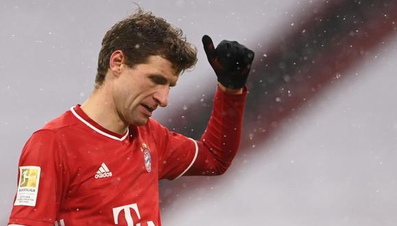 Thomas Müller dio positivo por coronavirus y se pierde el Tigres-Bayern. (Foto: AFP)