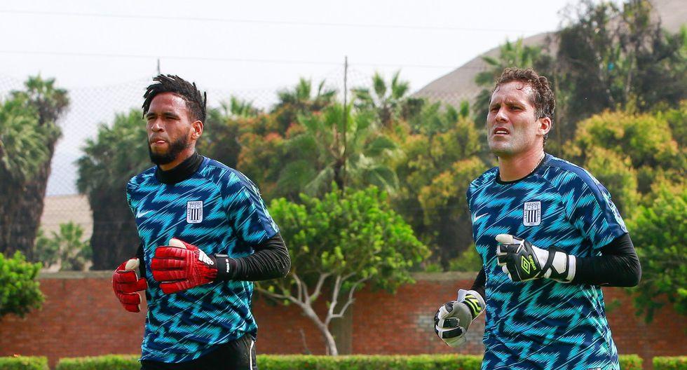 Pedro Gallese y Leao Butrón, los dos grandes arqueros que tiene Alianza Lima. (Foto: Alianza Lima)