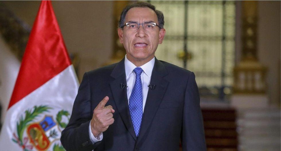 Martín Vizcarra le dará un mensaje a todos los peruanos en un Mensaje a la Nación. (Foto: GEC)