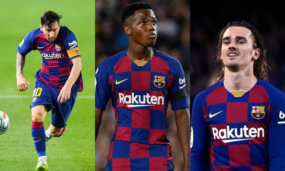 El posible once del Barcelona para el clásico ante Real Madrid.