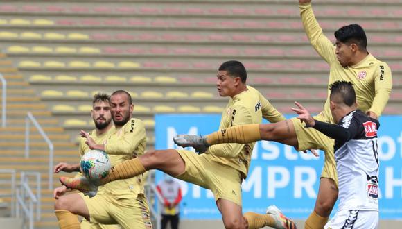 UTC venció 3-1 a Cantolao en el estadio San Marcos. (Foto: Liga 1)