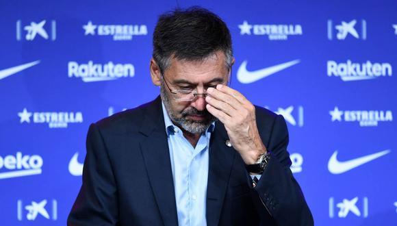 Josep Maria Bartomeu fue presidente del FC Barcelona entre 2015 y 2020. (Foto: AFP)