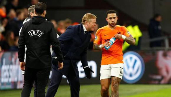 Memphis Depay es uno de los pedidos de Ronald Koeman a la directiva del FC Barcelona. (Foto: Getty Images)
