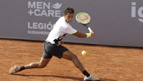 Juan Pablo Varillas avanzó a semifinales del ATP Challenger de Santiago II. (Foto: Legión Sudamericana)