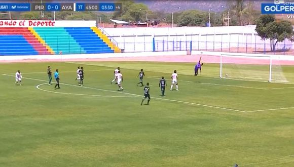 Jack Cirilo anotó golazo y abrió el marcador en Olmos frente a Pirata FC. (GOLPERU)