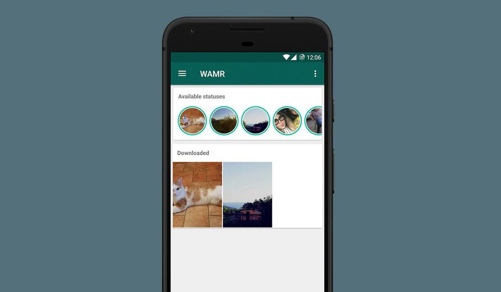 De esta forma podrás descargar los Estados de tus amigos de WhatsApp. (Foto: WhatsApp)