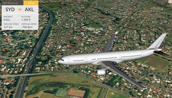Conoce todos los vuelos que circulan en el mundo con esta aplicación gratuita. (Foto: flightradar24)