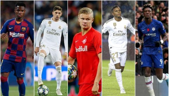 Las promesas del fútbol europeo