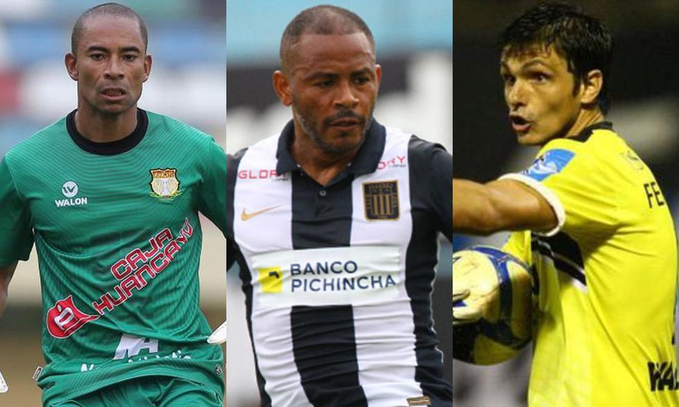 Pinto, Aguirre y Ferreyra forman parte de los futbolistas más longevos en la Liga 1. (Foto: Agencias)