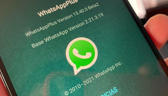 ¿Te ha llegado un mensaje de que WhatsApp cerrará tu cuenta de WhatsApp Plus? (Foto: Depor)