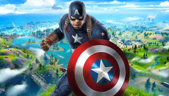 Fortnite y Marvel volverían a colaborar con una skin de Capitán América. (Foto: montaje)