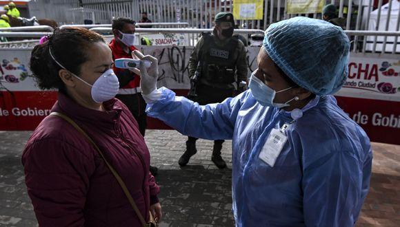Colombia cerró sus pasos fronterizos con Ecuador para evitar aumento de casos de coronavirus. (Foto: AFP/Juan Barreto)