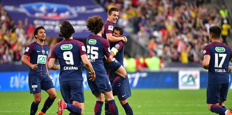 PSG venció 2-0 al Les Herbiers por la final de la Copa de Francia. (Getty)