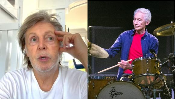 Rolling Stones: Paul McCartney emotivo mensaje de despedida a Charlie Watts. (Foto: @paulmccartney/ AFP)