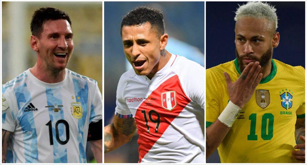 El equipo ideal de la Copa América. (Foto: AFP)