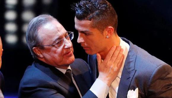 Florentino Pérez aseguro que Cristiano Ronaldo no volverá a Real Madrid. (Foto: Twitter)