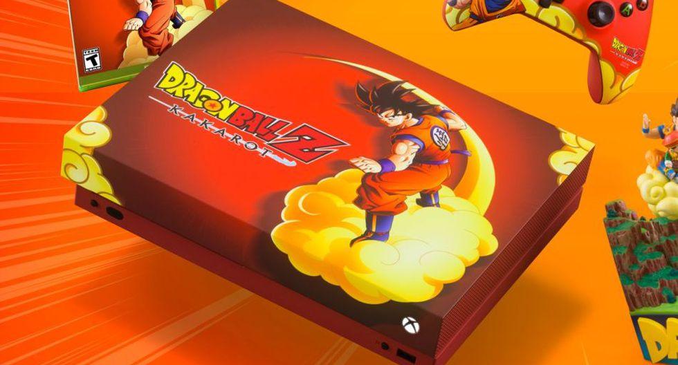 "Dragon Ball: Microsoft lanzó una Xbox One X inspirada en ""Dragon Ball Z: Kakarot"""