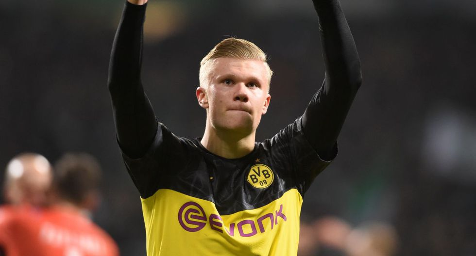 Erling Haaland tiene una cláusula de 75 millones de euros en Borussia Dortmund. (Foto: Reuters)