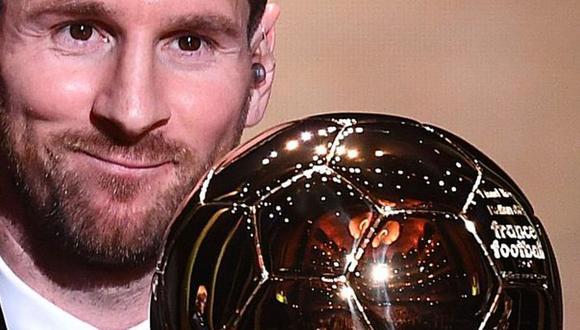 Lionel Messi ha ganado seis Balones de Oro en su carrera. (Foto: AFP)