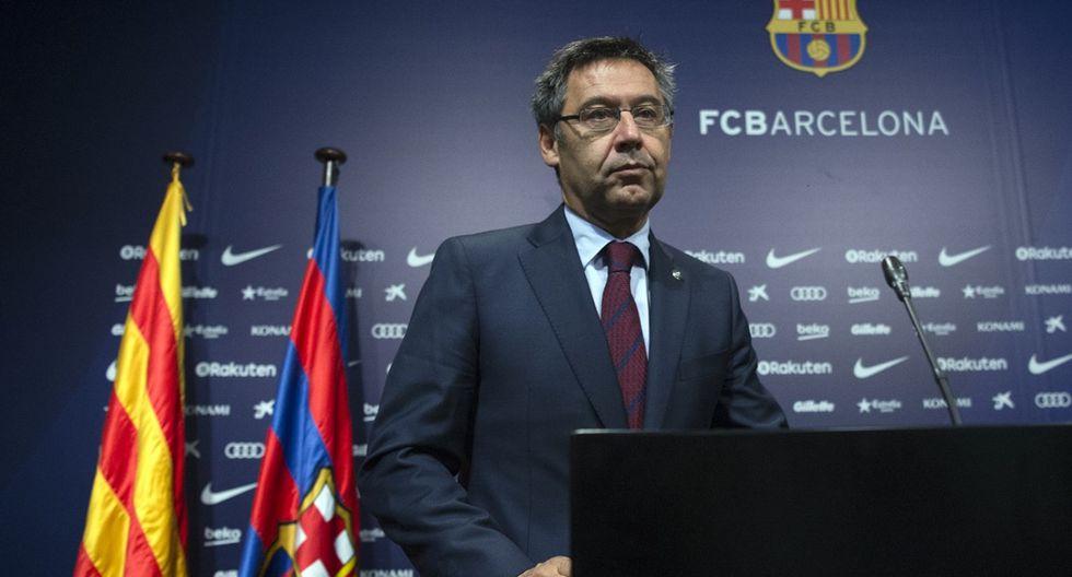 Josep Maria Bartomeu termina su mandato en el FC Barcelona en 2021. (Foto: EFE)