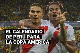 Conoce las fechas de los partidos de la selección peruana en la Copa América 2021