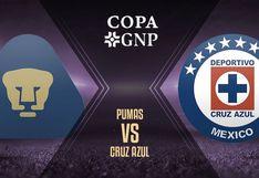 Cruz Azul vs. Pumas EN VIVO: horarios, canales y cómo ver fecha 1 de Copa GNP por México 2020