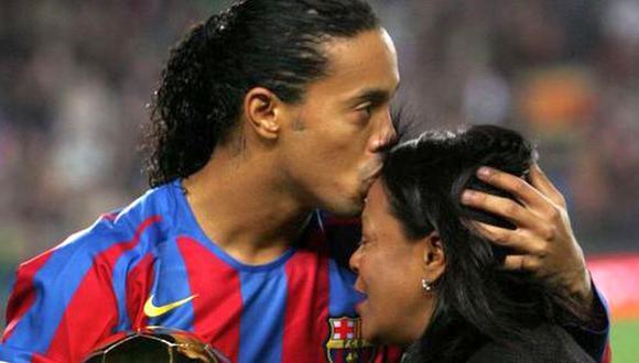 Madre de Ronaldinho atraviesa un complicado momento de salud. (Foto: Agencias)