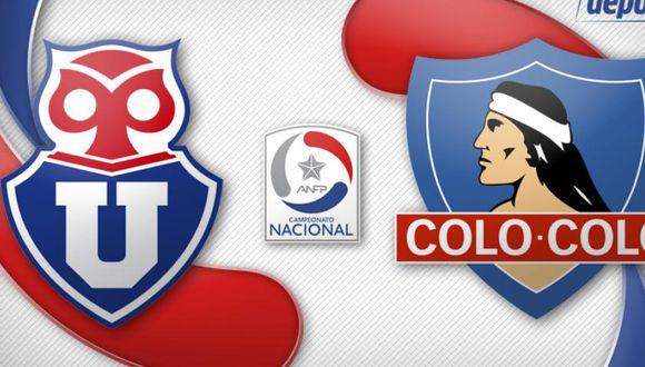 U. de Chile vs. Colo Colo: ver horarios y canales EN VIVO y EN DIRECTO por Clásico de Chile del Torneo Nacional