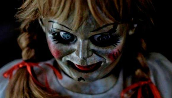 ¿Realmente escapó? Annabelle, la muñeca diabólica que generó pánico en las películas de terror, generó controversia en redes sociales. (Foto: Captura de Warner Bros Picture/YouTube)