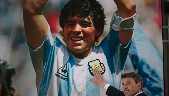 Diego Maradona murió a los 60 años tras un paro cardiorrespiratorio. (Getty)