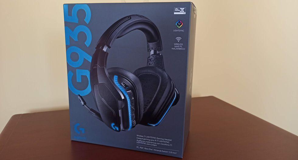 Headset Logitech G935 (Foto: Depor)