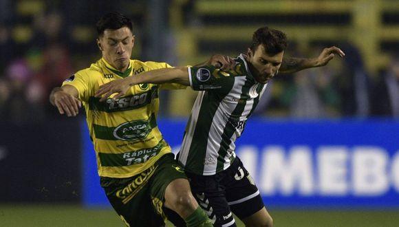 Defensa y Justicia empató con Banfield en la ida por Copa Sudamericana 2018. (AFP)