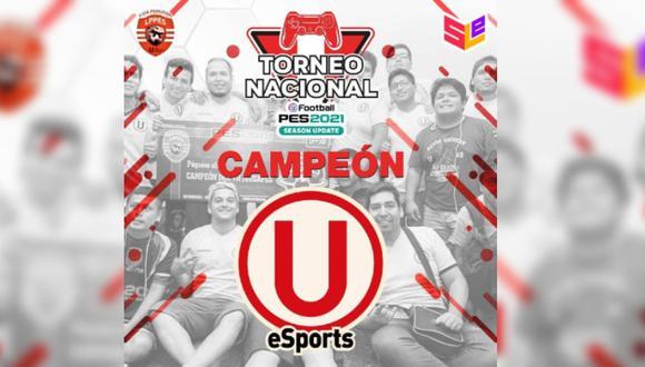PES 2021: Universitario es campeón de la Liga Peruana de PES tras vencer a Sporting Cristal