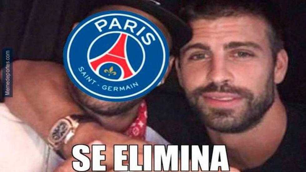 Los memes tras la eliminación del PSG a manos del City. (Foto: Facebook)